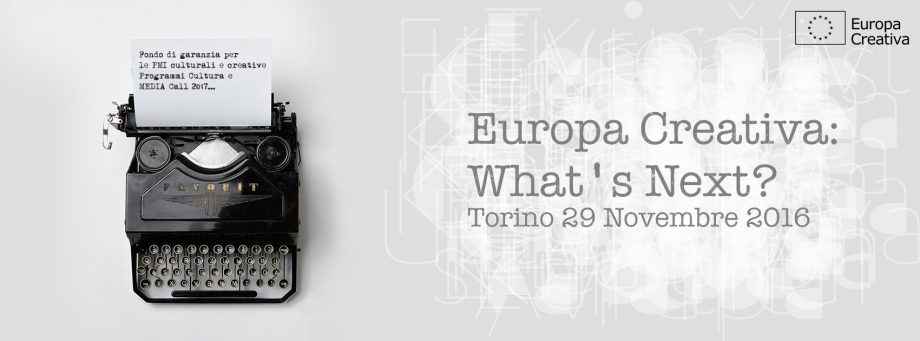 Europa Creativa: What's next?